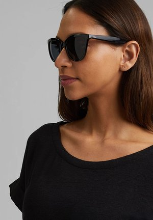 MIT FARBVERLAUF - Sunglasses - black