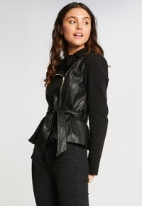 Morgan - Faux leather jacket - black - 0