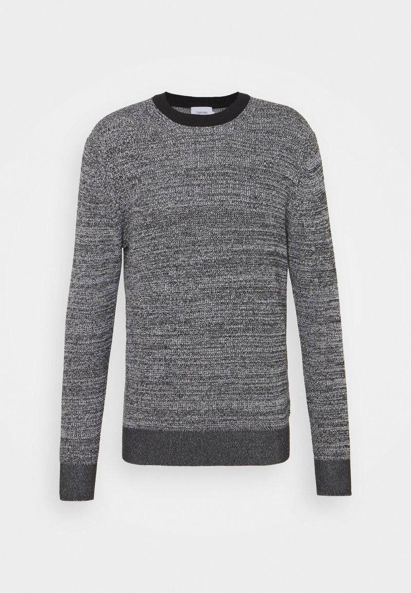 Calvin Klein - TEXTURE  - Jumper - black