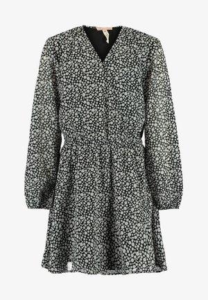 DANA - Day dress - black/white