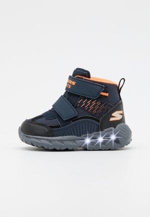 MAGNA LIGHTS - Boots - navy/black/orange