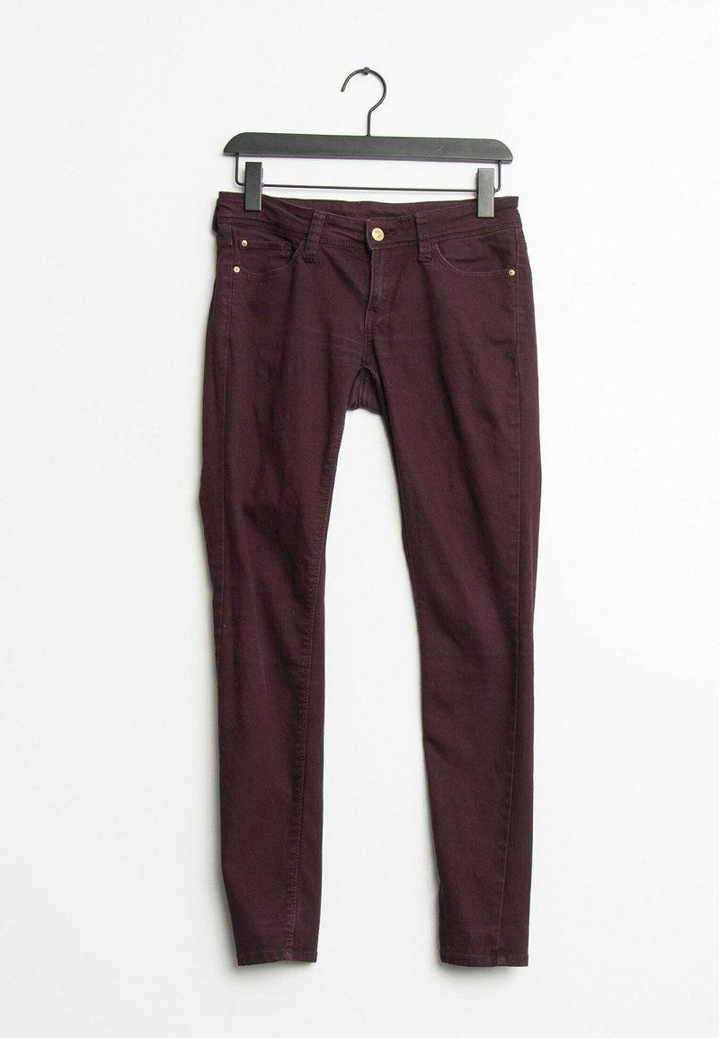 Mango - Slim fit jeans - purple