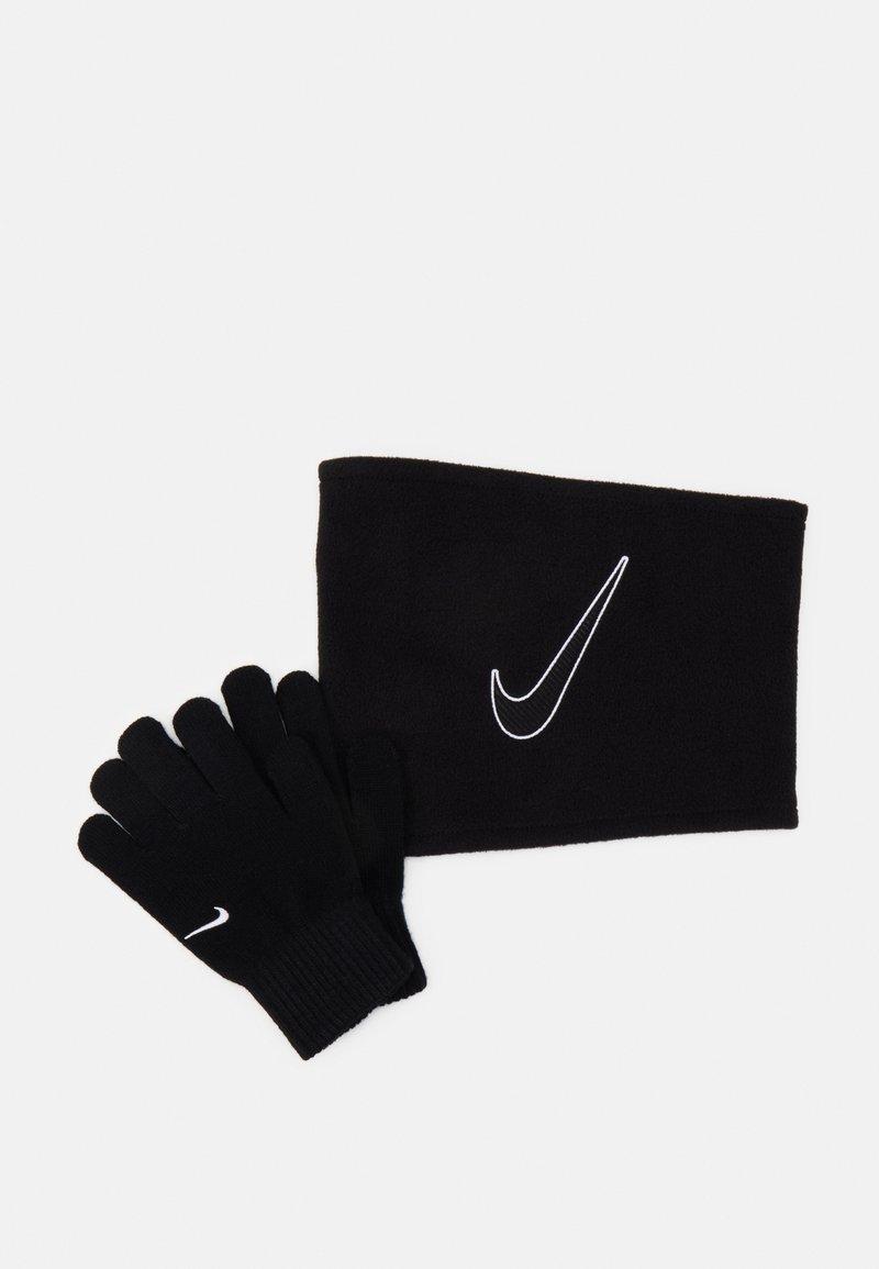 Nike Performance - KIDS  SET  - Schlauchschal - black/white