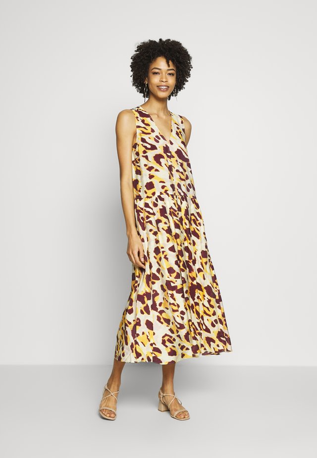 DELICIAIW DRESS - Robe d'été - yellow faded