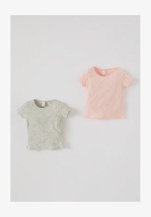2 PACK - T-Shirt basic - pink