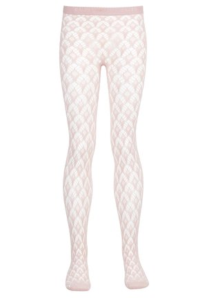 Tights - sugar coral