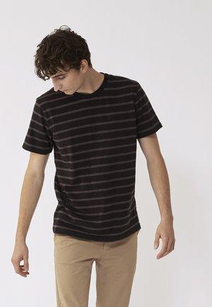 SCOTT - Print T-shirt - black
