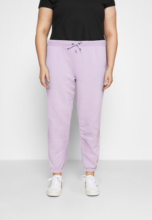 NMLUPA LOGO PANTS - Verryttelyhousut - orchid bloom