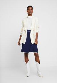 Anna Field - BASIC - A-line skirt - dark blue - 1