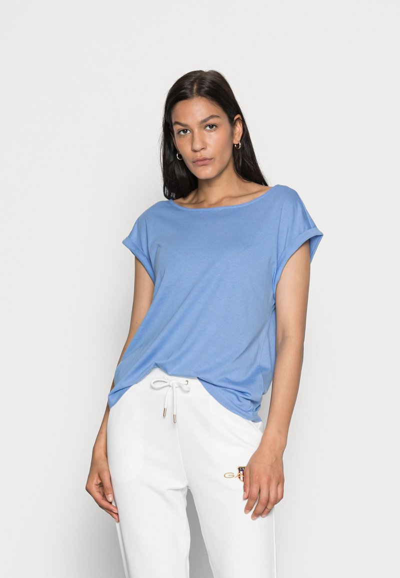 s.Oliver - Basic T-shirt - blue lagoon
