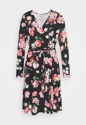 Day dress - black/pink