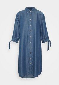 comma - Denimové šaty - dark blue - 4