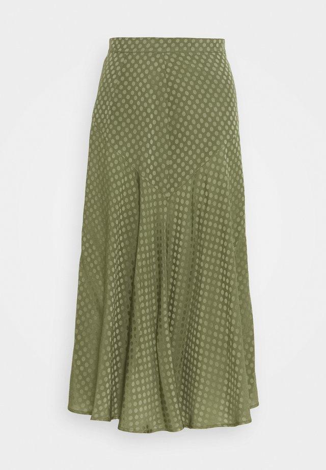UCRAINA - A-line skirt - khaki