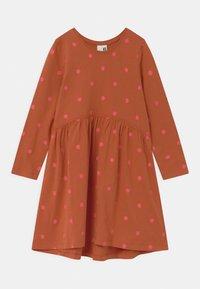 Cotton On - FREYA LONG SLEEVE 2 PACK - Jersey dress - roasted almond/sum grey - 1