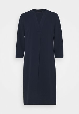 NOTCH NECK SHIFT - Day dress - dark blue
