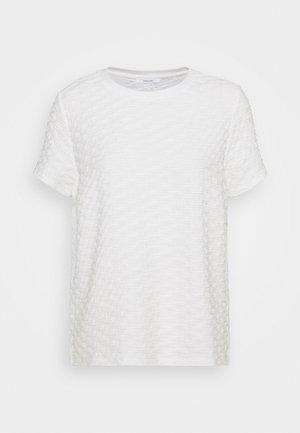 SAANY - Basic T-shirt - milk