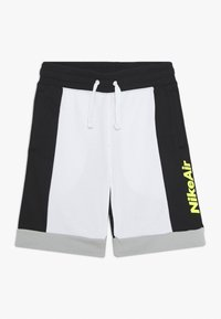 Nike Sportswear - AIR  - Tracksuit bottoms - white/black/light smoke grey/volt - 0