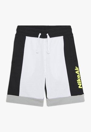 AIR  - Tracksuit bottoms - white/black/light smoke grey/volt