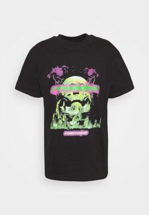 REVOLUTION UNISEX - Print T-shirt - black