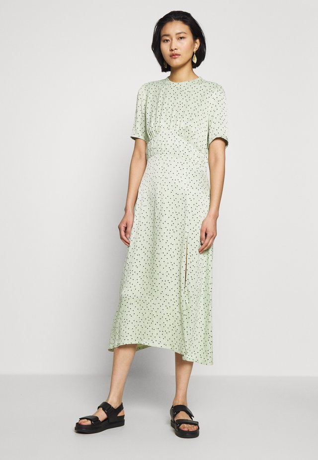 MARIELLE DRESS - Vapaa-ajan mekko - mint/black
