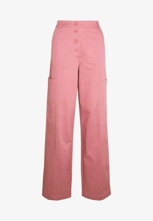 SLFLARA TAPPERED PANT - Trousers - heather rose