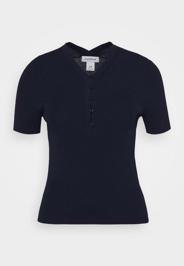ZORLEY - Basic T-shirt - navy
