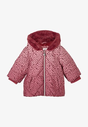 Winterjas - pink aop