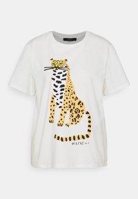 LIBIA - Print T-shirt - weiss