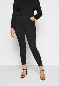 New Look Curves - Jeans Skinny Fit - black - 0