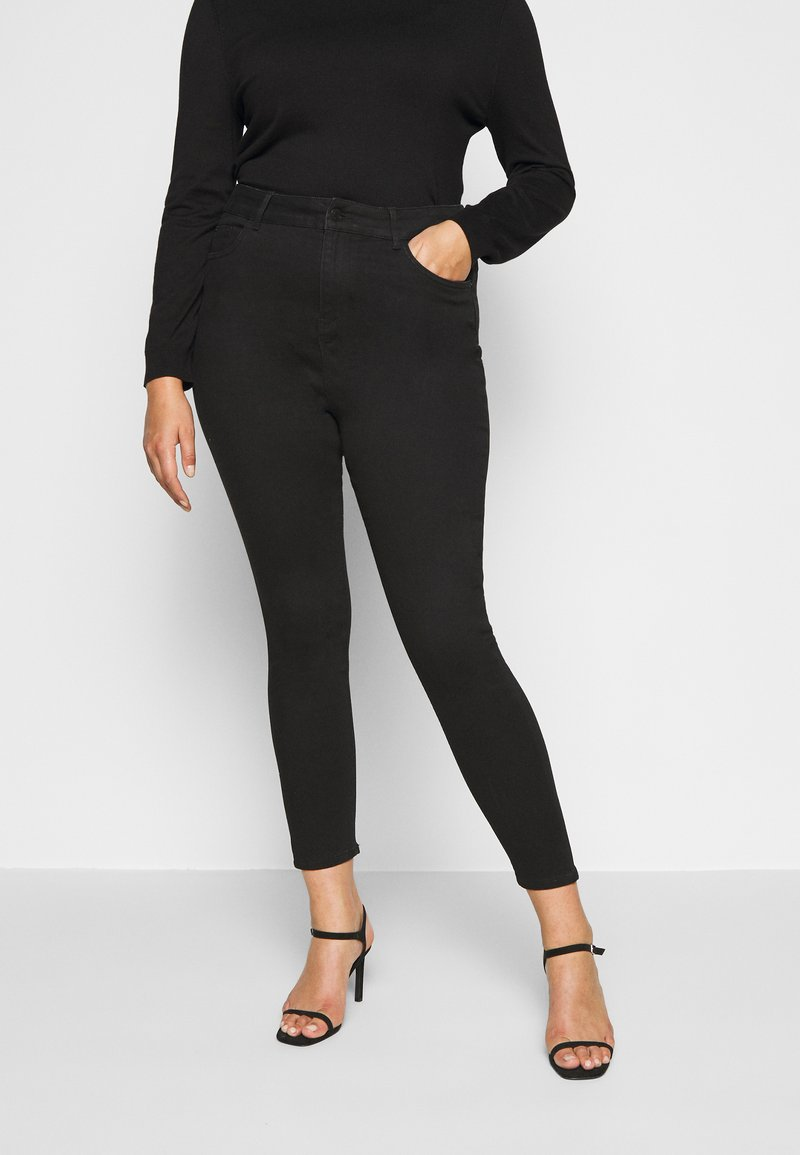 New Look Curves - Jeans Skinny Fit - black