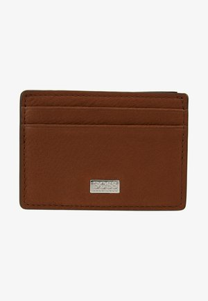 CROSSTOWN MONEY - Business card holder - light/pastel brown