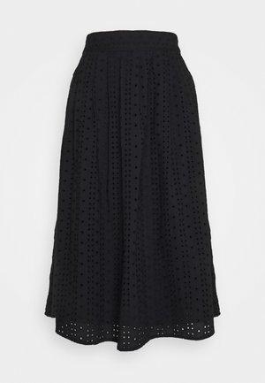 ANGLAISE - Maxi skirt - black