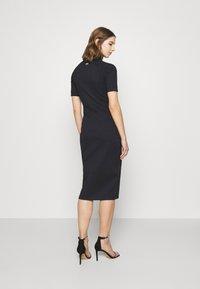 G-Star - MOCK SLIM DRESS SLEEVE - Shift dress - dark blue - 2