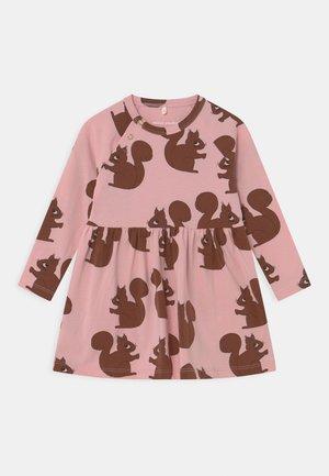 SQUIRREL DRESS - Jersey dress - pink