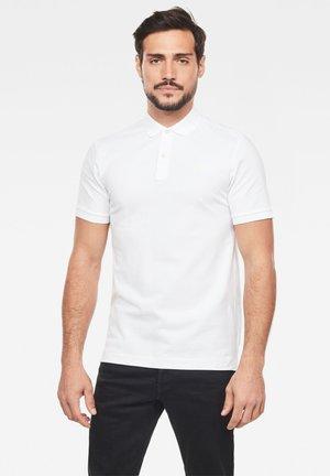 DUNDA SLIM - Polo shirt - white