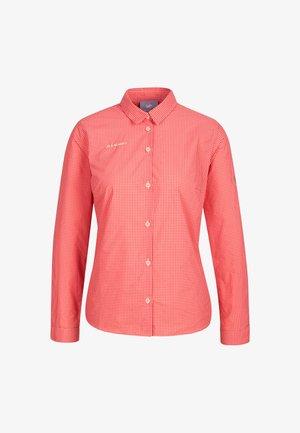 AADA - Button-down blouse - evening sand-sunset