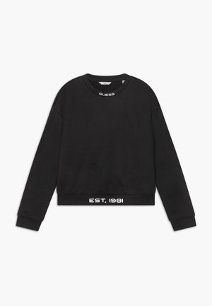 JUNIOR GLOW IN THE DARK - Sweater - jet black