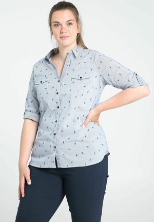Button-down blouse - sky