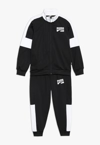 Puma - REBEL SUIT - Tracksuit - puma black - 0