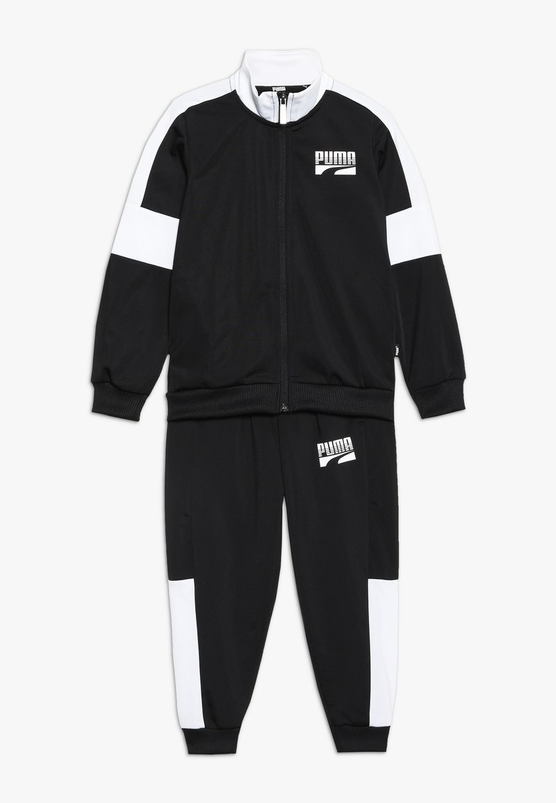 Puma - REBEL SUIT - Tracksuit - puma black
