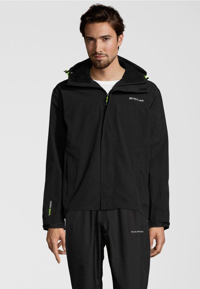 MIT STRETCH-FUNKTION - Outdoor jacket - black