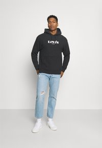 Levi's® - RELAXED GRAPHIC - Hoodie - caviar - 1