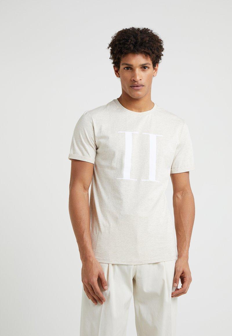 Les Deux - ENCORE  - Print T-shirt - beige