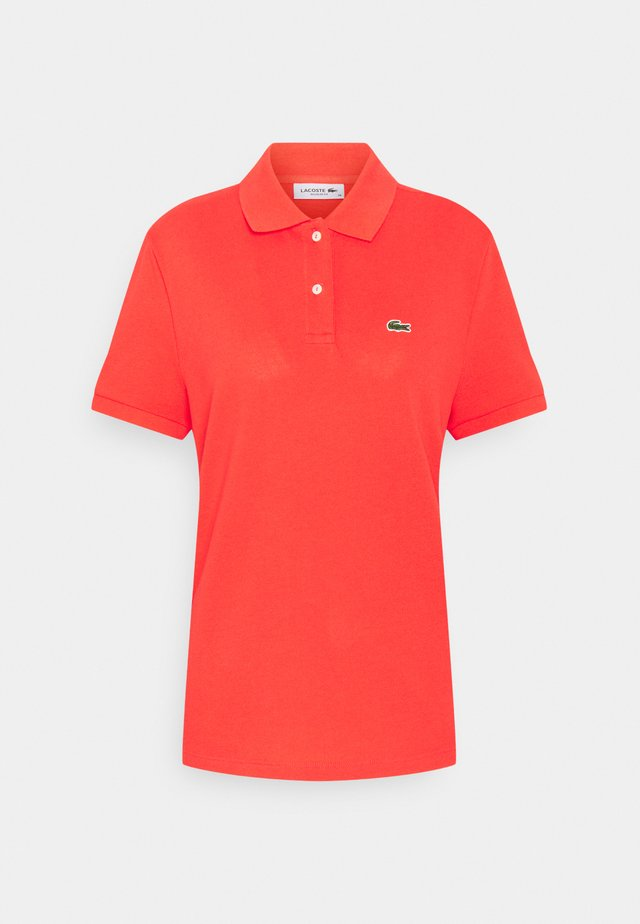 CLASSIC FIT DAMEN - Polo shirt - energy red