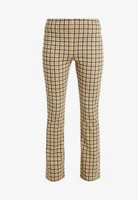 Vila - VIDIGAN FLARE PANT - Trousers - golden rod - 3