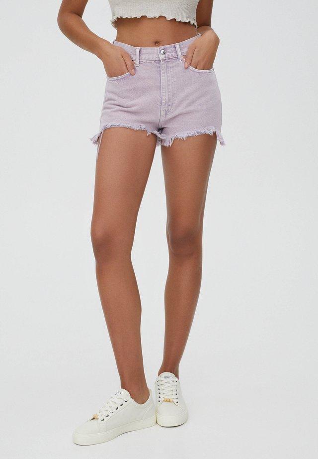 Shorts di jeans - purple
