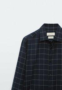 Massimo Dutti - SLIM FIT - Shirt - dark blue - 3