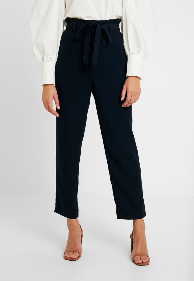 OBJCELESTE PANT - Trousers - sky captaindark blue