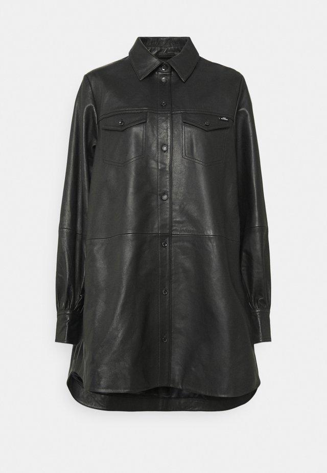NANCY - Krátký kabát - black