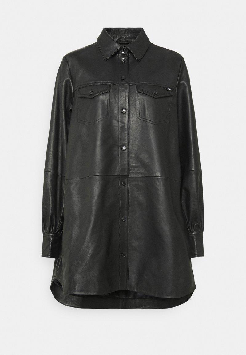 Won Hundred - NANCY - Krátký kabát - black